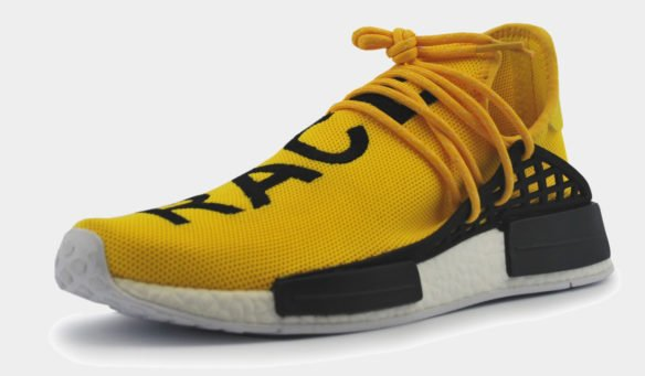 Adidas NMD X Pharell Human Race Желтые