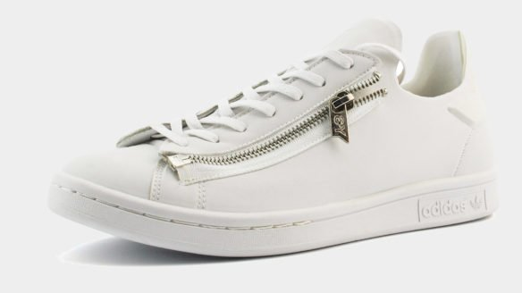 Adidas Y-3 Stan Smith Zip белые