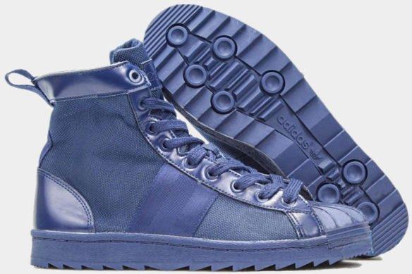 Фото Adidas Superstar Jungle Boots синие - 2