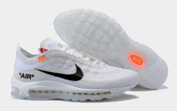 Фото Nike x OFF WHITE Air Max 97 белые - 1