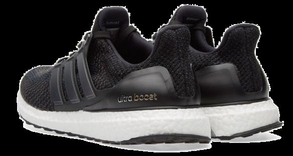 Фото Adidas Ultra Boost 3.0 Черные с Белым - 2
